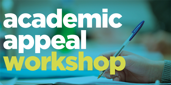 academic appeals workshop