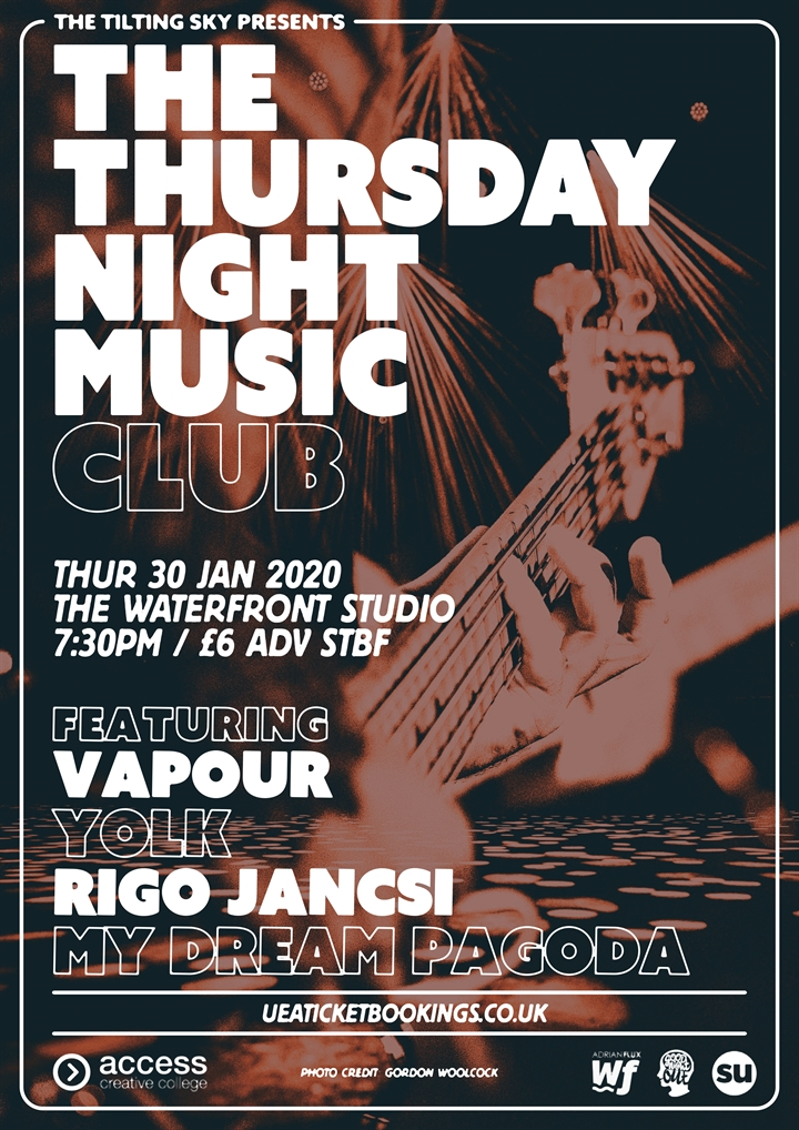 The Thursday Night Music Club ft. Vapour