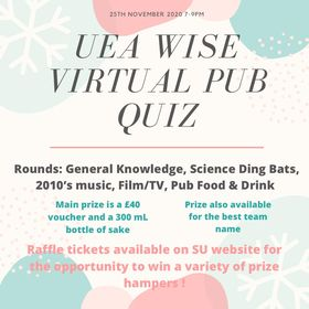 WISE Virtual Pub Quiz