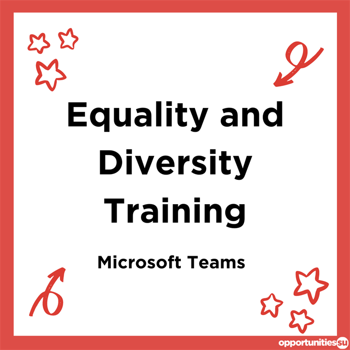Society Equality and Diversity Training (28th May)
