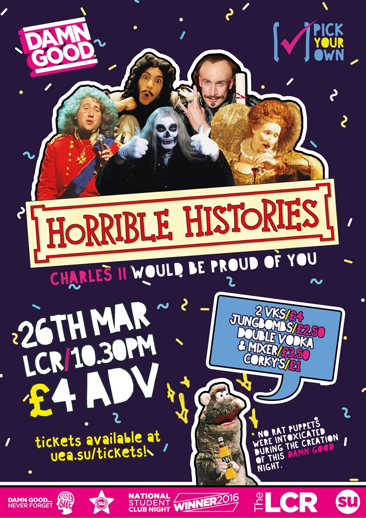 Horrible Histories DAMN GOOD