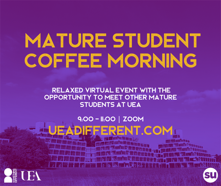 Mature students' coffee morning