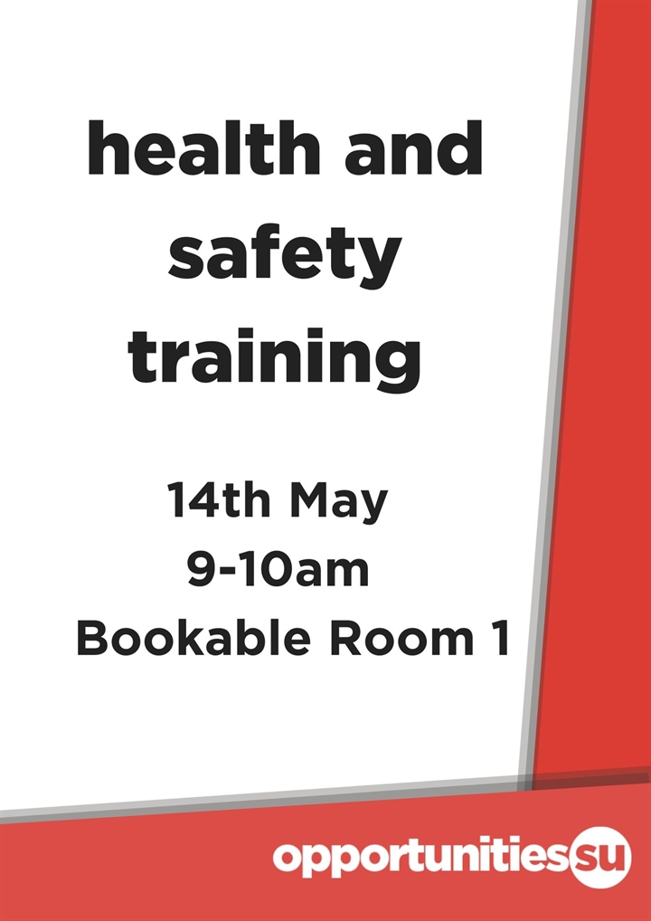 Health and Saftey Training