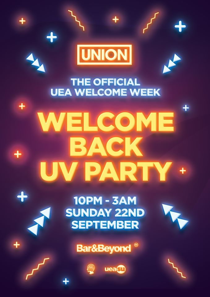 Welcome Back UV Party