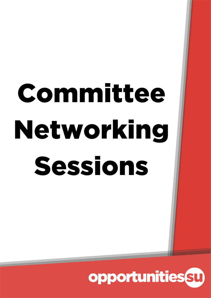 Committee Networking Sessions