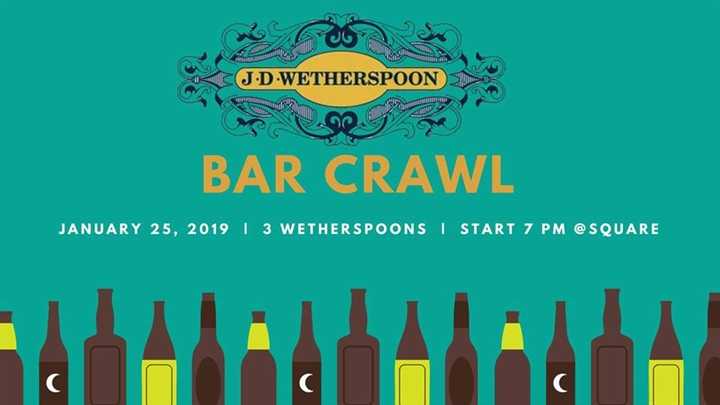 Wetherspoon Bar Crawl