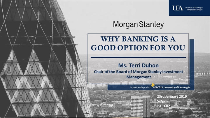 Why banking is a good option for you!
