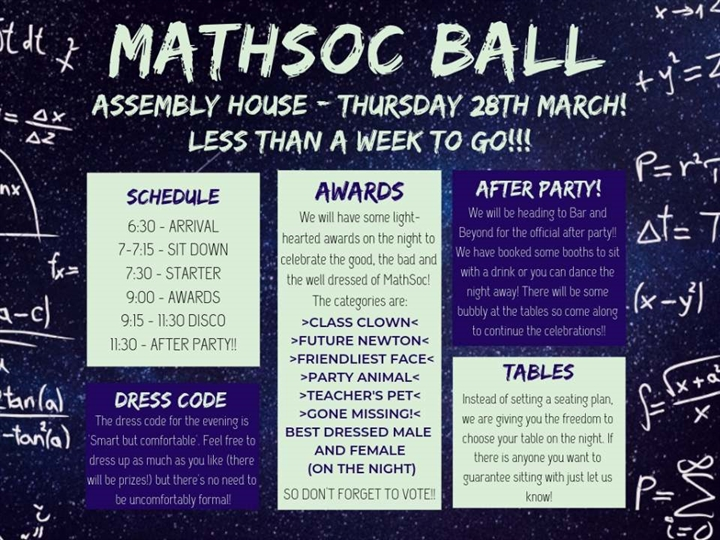 MathSoc Ball 2019