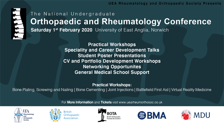The National Undergraduate Orthopaedic and Rheumatology Conference 2020