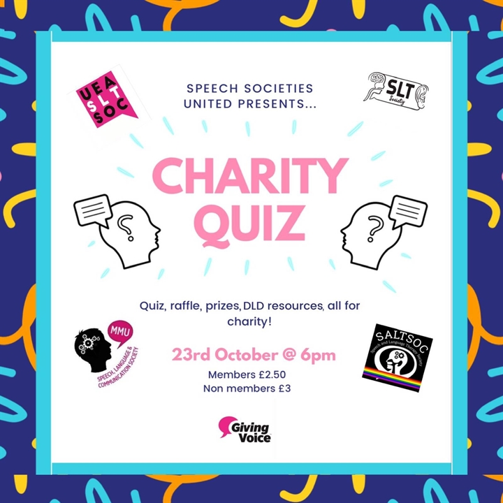 Speech Societies United DLD awareness Quiz