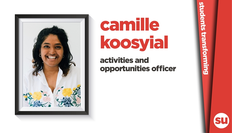 Camille Koosyial activities and opportunities officer